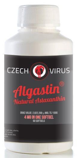 Czech Virus Algastin Natural Astaxanthin 60 kapslí