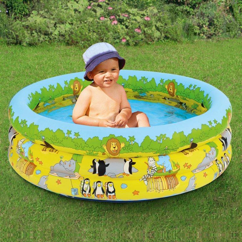 Dětský bazének 4v1 s nafukovacím dnem 70x25cm