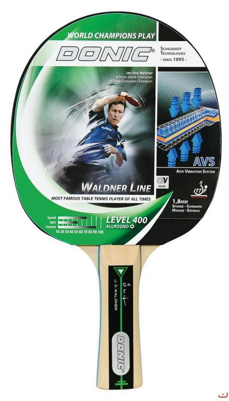 Donic Waldner 400 - Konkávní (FL) držátko