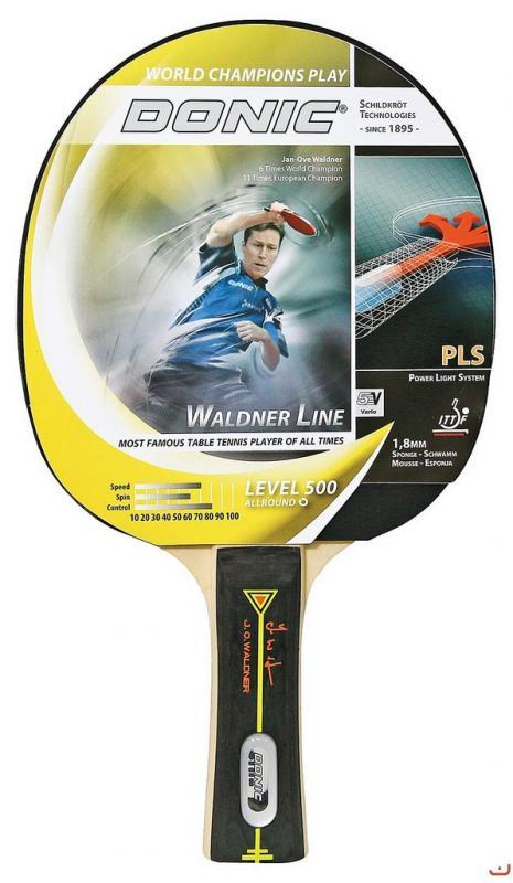 Donic Waldner 500 - Konkávní (FL) držátko