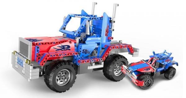Double Eagle Stavebnice Truck 2v1 - auto na dálkové ovládání