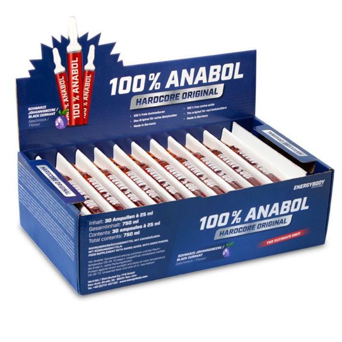 EnergyBody 100% Anabol 30×25ml