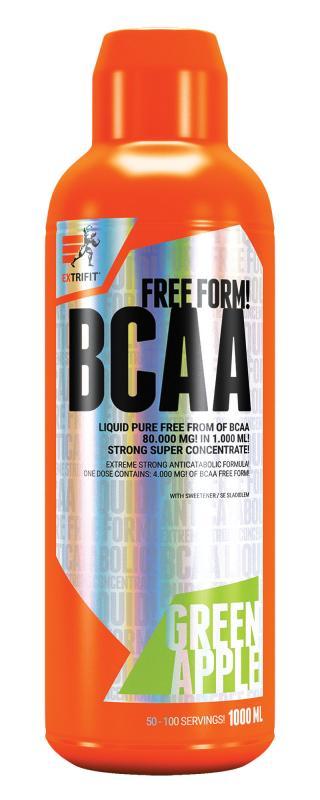 Extrifit BCAA Free Form 80000 1000 ml - višeň