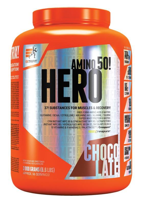 Extrifit Hero 3000 g - vanilka