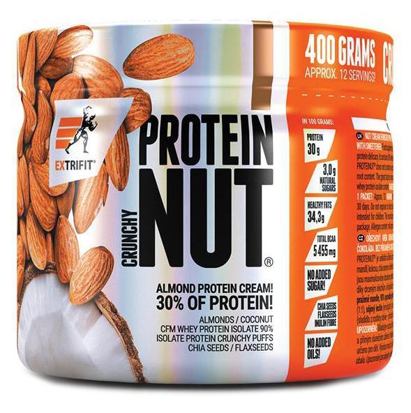 Extrifit Proteinut 400 g - dvojitá čokoláda