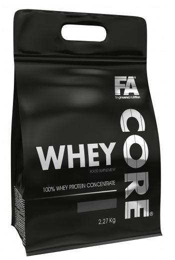 Fitness Authority Whey Core 2270g - banán - broskev