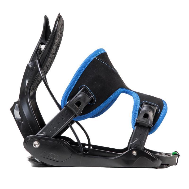 Flow Evolve 17/18 Blue snowboardové vázání - L (EU 40-45)(25,5-29 cm)