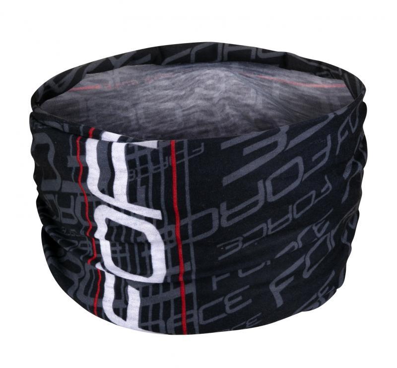 Force šátek multifunkční léto černo-bílý