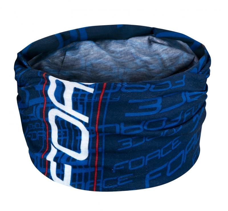 Force Šátek multifunkční léto modrý