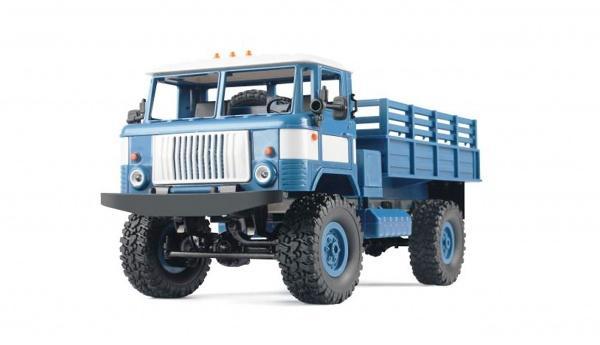 RCobchod GAZ-66 4x4 modrá RTR 1:16