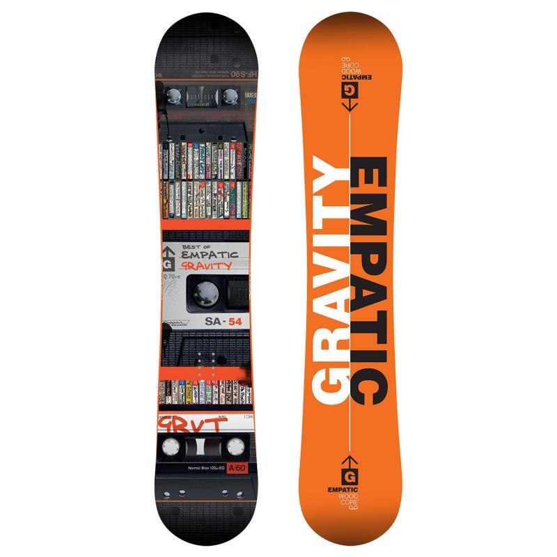 Gravity Empatic 17 18 snowboard + obal zdarma  20c8636f96