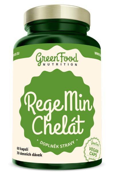 GreenFood RegeMin Chelát 60 kapslí