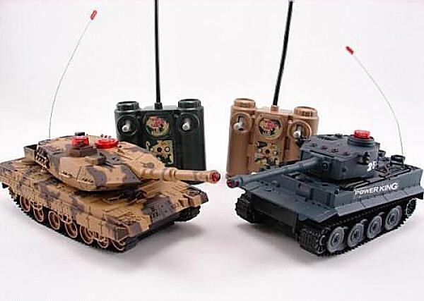 H-Q Sada bezpečných infra tanků 1/32, 2v1 + 2x Náhradní akumulátor 600 mAh