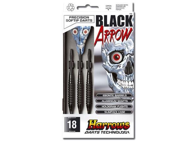 Harrows BLACK ARROW šipky - 14 g