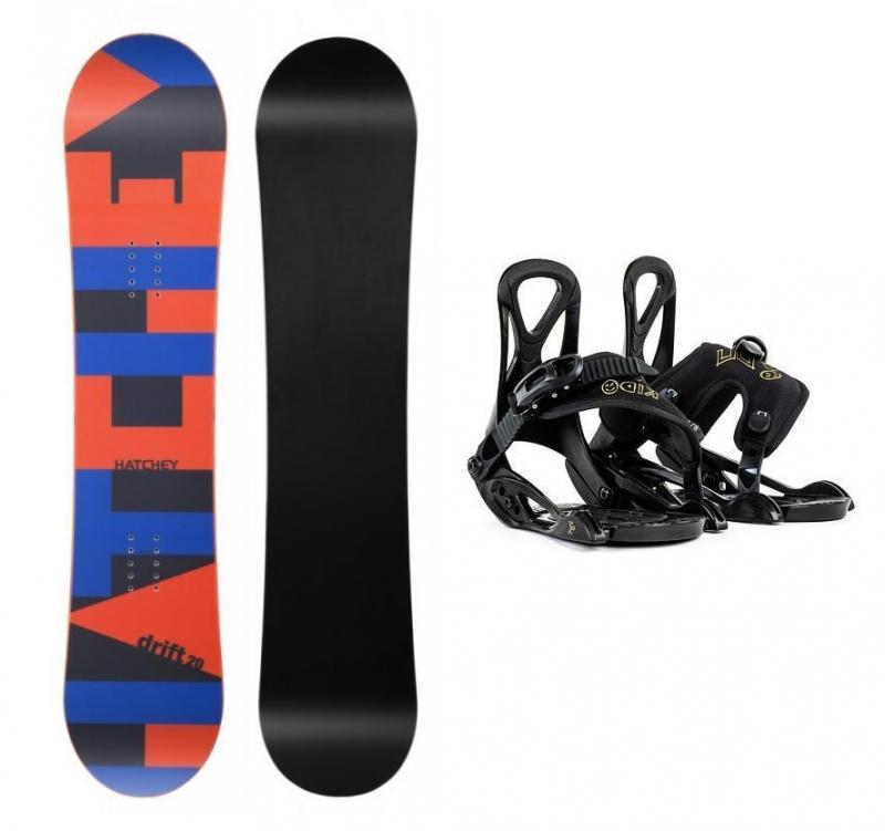 Hatchey Drift Kid dětský snowboard + Beany Kido vázání - 105 cm + EU (EU 25-31)