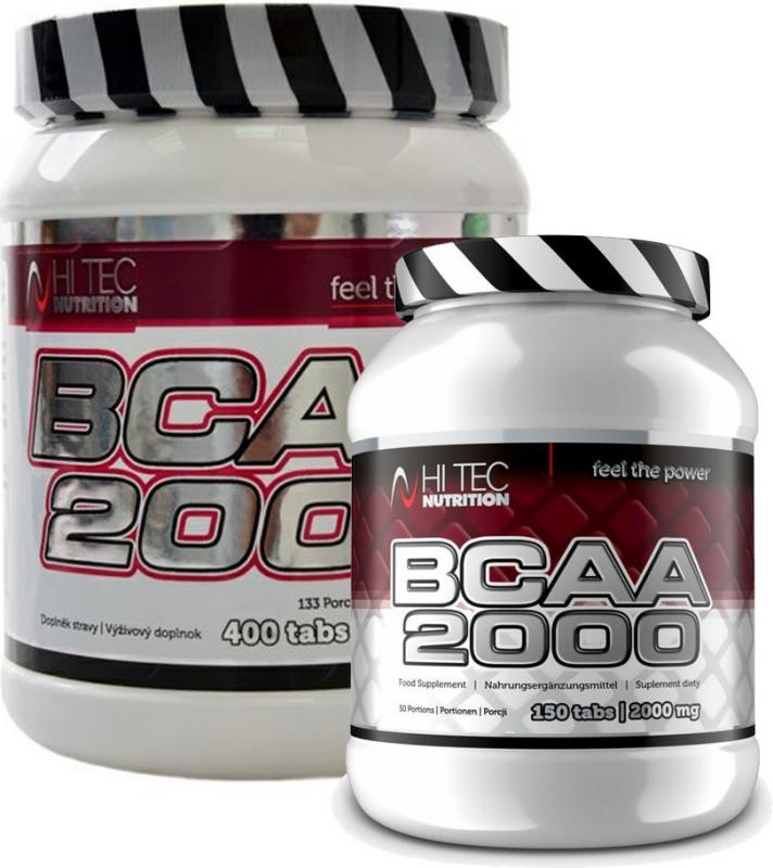 Hi Tec Nutrition BCAA 2000 400 tablet