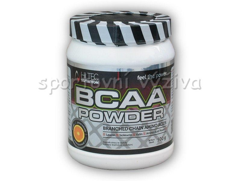 Hi Tec Nutrition BCAA powder 500g - Natural
