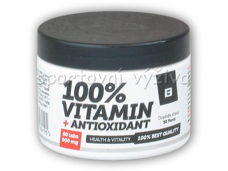 Hi Tec Nutrition BS Blade 100% Vitamin antioxidant 60 tbl