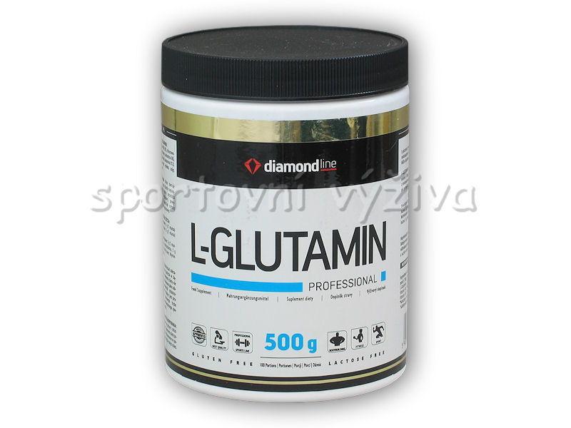 Hi Tec Nutrition Diamond line L-Glutamin profesional 500g