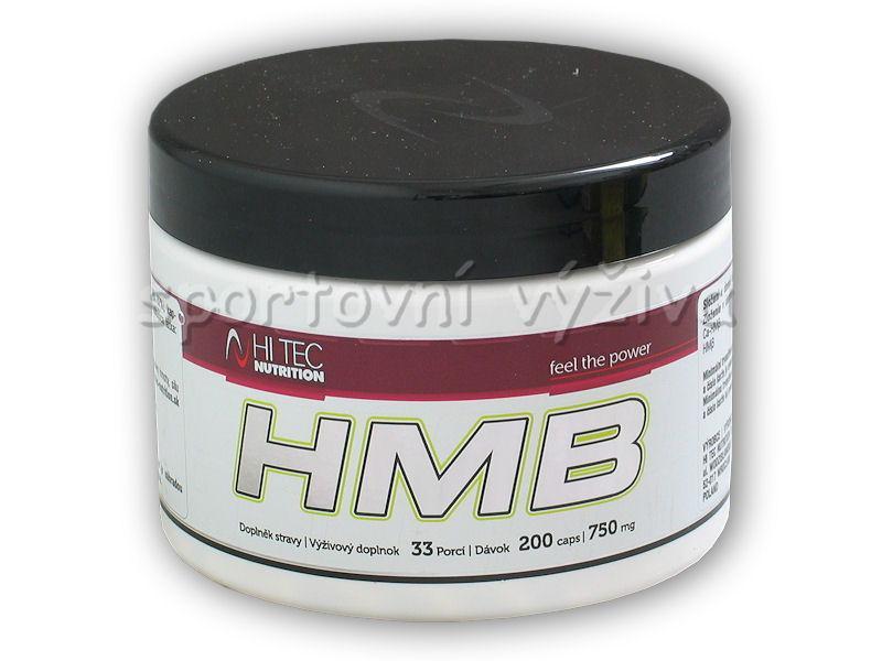 Hi Tec Nutrition HMB 750mg 200 kapslí
