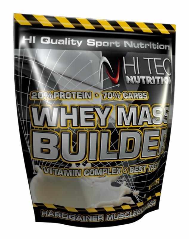 Hi Tec Nutrition Whey Mass Builder 3000g - Banán