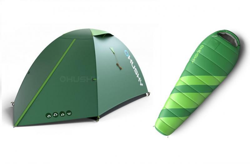 047e80ee2 Husky Bizam 2 zelený stan + 2x Husky Maestro -7°C (výhodný set ...