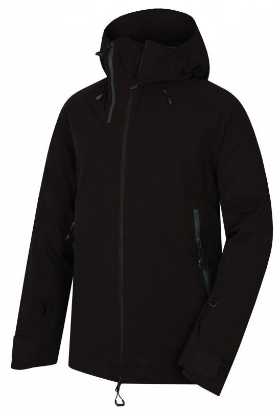 Husky Gambola M černá pánská lyžařská bunda - XXXL
