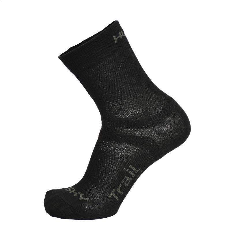 Husky Trail černé ponožky - M (36-40)