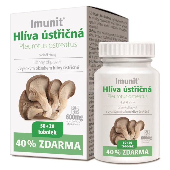 Imunit Hlíva ústřičná 150+60 kapslí