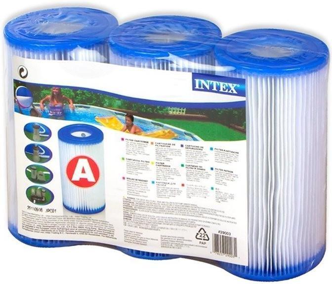 Intex Papírová vložka do filtru 29003 - Trojbalení