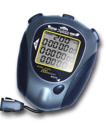 Junso Stopky elekt. 200LAP 9005 - šedá