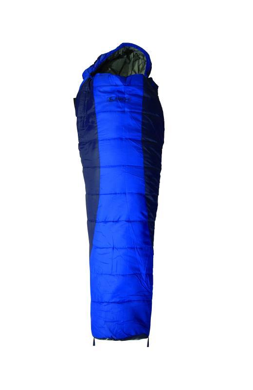 Jurek Hilly DV XW spací pytel - modrá - levý zip