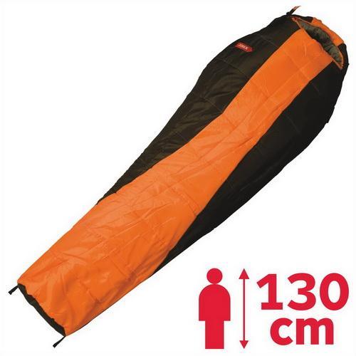 Jurek Lady DV Kids dívčí spací pytel - oranžová - levý zip