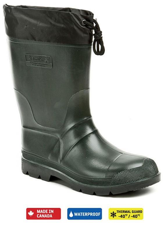 Kamik Pánské holínky hunter zateplené pánská obuv - EU 41