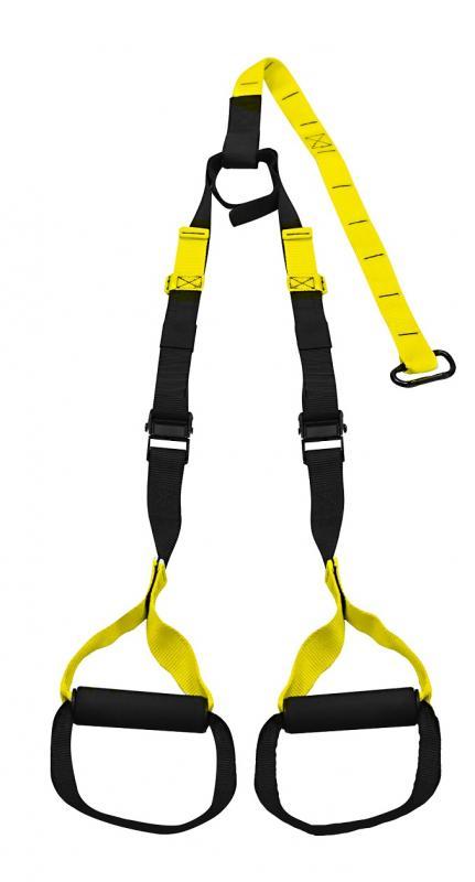 Lifefit Závěsné posilovací popruhy nastavitelné černo - žluté