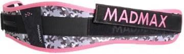 MadMax Dámský fitness opasek WMN - Swarovski růžový - XS