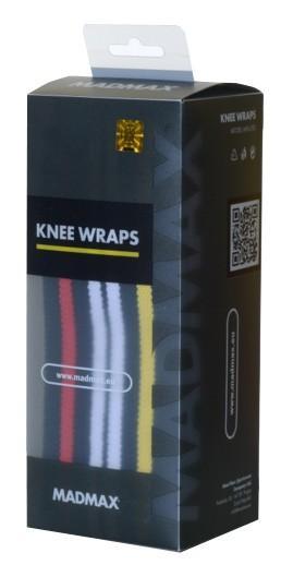 MadMax elastická bandáž kolene omotávací MFA292