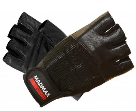 MadMax rukavice Clasic Exclusive MFG248 černé - XL