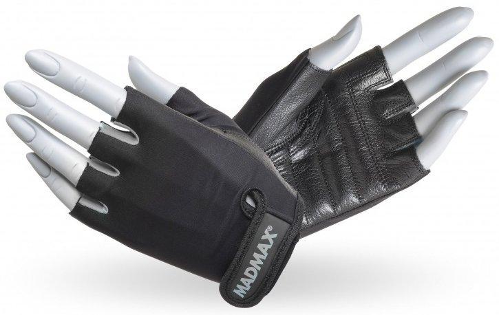 MadMax rukavice Rainbow MFG251 šedé - S