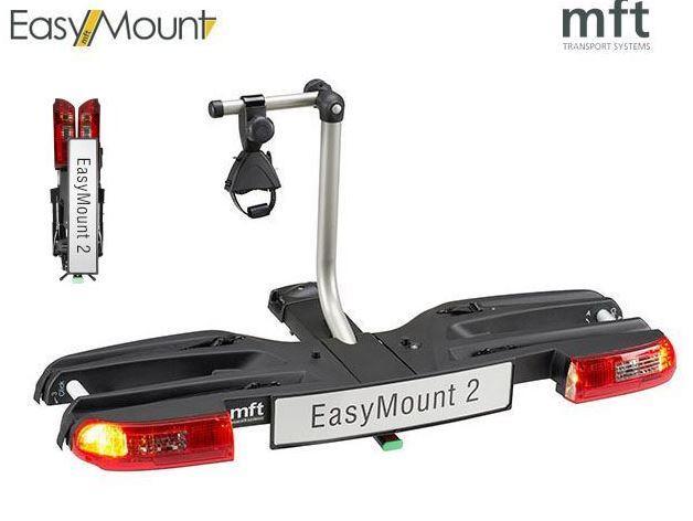 MFT Easy Mount 2 - 2 kola - nosič na tažné zařízení + adaptér el. přípojky Zdarma