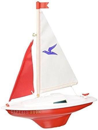 Model plachetnice pro děti CAPTAIN HOOK 24x31 cm
