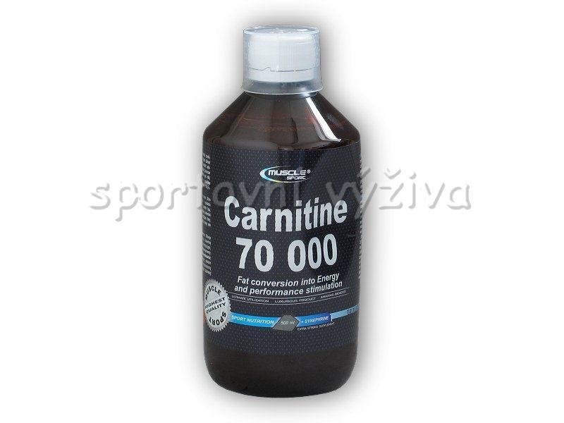 Musclesport Carnitine 70000 + synephrine 500ml