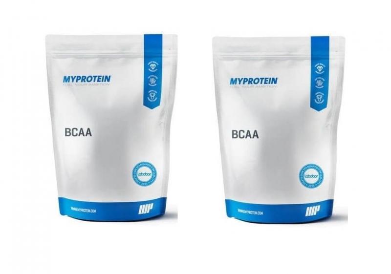 MyProtein BCAA 1000g bez příchutě (výhodný set 2ks) - bez příchutě
