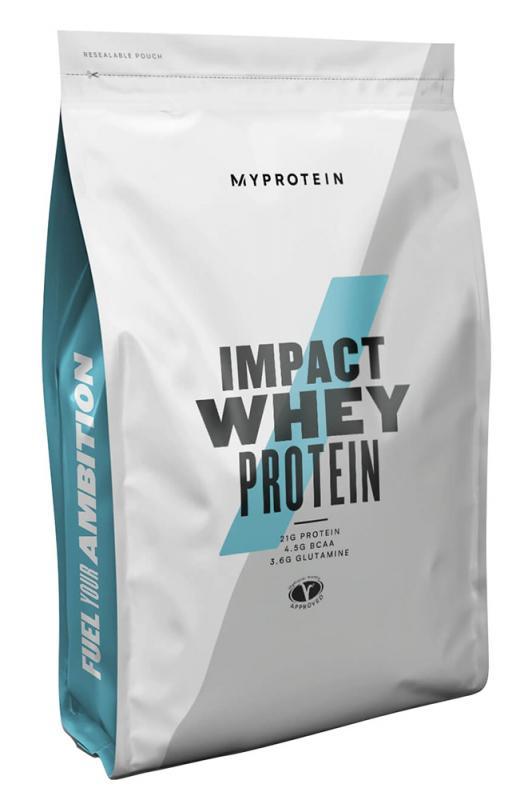 MyProtein Impact Whey Protein 1000 g - bez příchutě