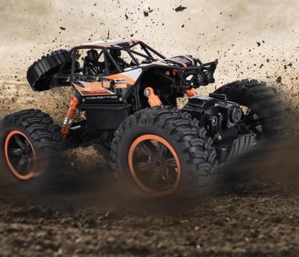 MZ-CLIMB - supersilný crawler 1/14 - oranžová