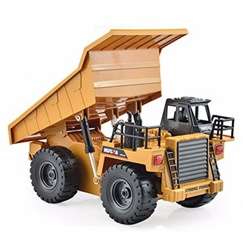 Nákladní auto sklápěč 4x4 1:18 s kovovou kabinou 6 kanálů