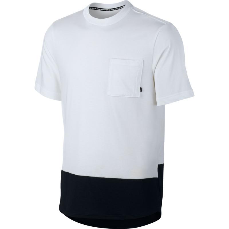Nike M NK SB DRY TOP (829523-100) černo-bílé triko - M