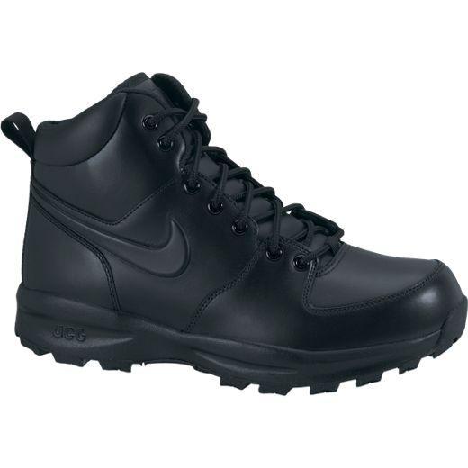 Nike MANOA LEATHER (454350-003) černé zimní boty - US 8 / EU 41