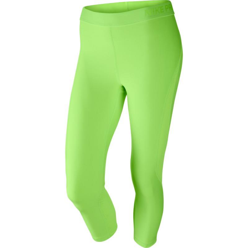 Nike W NP HYPERCOOL CAPRI SUMM WASH W (831978-367) zelené sportovní legíny 2a483063b3