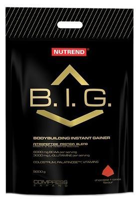 NUTREND Compress B.I.G. 5000 g - vanilka